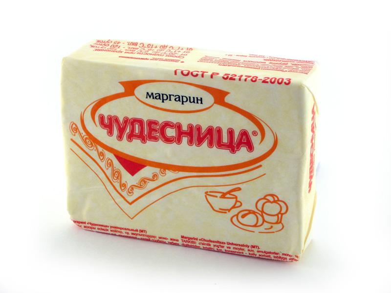 Как сделан маргарин